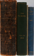 Books:Photography, [Photography, Periodical]. The Camera. Group of Three Bound Volumes and Two Single Issues. Camera Publishing, 19... (Total: 5 Items)