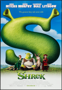 """Shrek (DreamWorks, 2001). One Sheets (2) (27"""" X 40""""). DS, Advance and Regular. Animation. ... (Total: 2 Items)"""