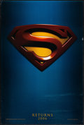 "Movie Posters:Action, Superman Returns (Warner Brothers, 2006). One Sheet (27"" X 40"") DSAdvance. Action.. ..."