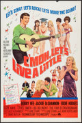 "Movie Posters:Rock and Roll, C'mon, Let's Live a Little (Paramount, 1967). One Sheet (27"" X41""). Rock and Roll.. ..."