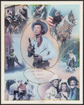"Movie Posters:Western, Roy Rogers Print (Nostalgia Merchant, 1977). Autographed Personality Poster (24' X 30""). Western.. ..."