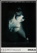 """Movie Posters:Science Fiction, Prometheus (20th Century Fox, 2012). IMAX Poster (13.5"""" X 19.5""""). Science Fiction.. ..."""