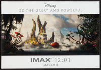"""Oz the Great and Powerful (Buena Vista, 2013). IMAX Poster (13"""" X 19""""). Fantasy"""
