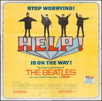 "Help! (United Artists, 1965). Six Sheet (79"" X 79""). Rock and Roll"