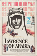 "Movie Posters:Academy Award Winners, Lawrence of Arabia (Columbia, 1962). One Sheet (27"" X 41"") Style D & Program (9.5"" X 12.5""). Academy Award Winners.. ... (Total: 2 Items)"