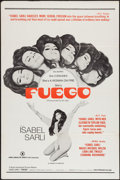 "Movie Posters:Adult, Fuego (Haven International Pictures, 1969). One Sheet (27"" X 41""). Adult.. ..."