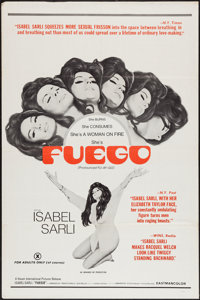 "Fuego (Haven International Pictures, 1969). One Sheet (27"" X 41""). Adult"