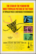"Funny Girl (Columbia, 1969). One Sheet (27"" X 41"") Academy Award Style. Musical"