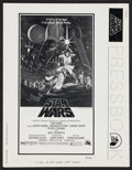"Movie Posters:Science Fiction, Star Wars (20th Century Fox, 1977). Uncut Pressbook (MultiplePages, 8.5"" X 11"") & Ad Supplement (13"" X 20). ScienceFiction... (Total: 2 Items)"