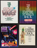 "Movie Posters:Science Fiction, Art of Star Wars & Others Lot (Ballantine, 1979). SoftcoverBooks (4) (8.5"" X 11"", 9"" X 12""). Science Fiction.. ... (Total: 4Items)"