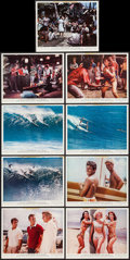 "Movie Posters:Sports, Ride the Wild Surf (Columbia, 1964). Color Photos (9) (8"" X 10""). Sports.. ... (Total: 9 Items)"