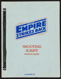 "Movie Posters:Science Fiction, The Empire Strikes Back (20th Century Fox, 1980). Copy of FourthDraft Shooting Script (Multiple Pages, 8.5' X 11""). Science..."