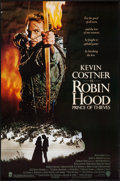 "Movie Posters:Adventure, Robin Hood: Prince of Thieves & Others Lot (Warner Brothers,1991). One Sheets (3) (27"" X 40"" & 27"" X 41"") DS & Regular.Adv... (Total: 3 Items)"