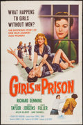 "Movie Posters:Bad Girl, Girls in Prison (American International, 1956). One Sheet (27"" X41""). Bad Girl.. ..."