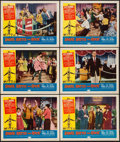 "Movie Posters:Rock and Roll, Shake, Rattle and Rock (American International, 1956). Lobby Cards(6) (11"" X 14""). Rock and Roll.. ... (Total: 6 Items)"