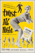 """Movie Posters:Rock and Roll, Twist All Night and Others Lot (American International, 1962). OneSheets (3) (27"""" X 41""""). Rock and Roll.. ... (Total: 3 Items)"""