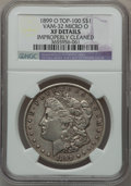 Morgan Dollars, 1899-O $1 Vam-32, Micro O -- Improperly Cleaned -- NGC Details. XF.Top-100. PCGS Population (10/22).. ...