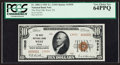 National Bank Notes:Texas, West, TX - $10 1929 Ty. 2 The West NB Ch. # 13935 Serial Number 1....