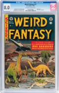 Golden Age (1938-1955):Science Fiction, Weird Fantasy #17 (EC, 1953) CGC VF 8.0 Off-white to whitepages....