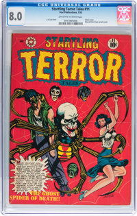 Startling Terror Tales #11 (Star Publications, 1952) CGC VF 8.0 Off-white to white pages