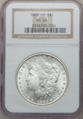 Morgan Dollars, 1880-CC $1 MS66 NGC....