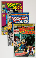 Bronze Age (1970-1979):Humor, Howard the Duck Group (Marvel, 1976-86) Condition: Average VF-....(Total: 27 Comic Books)
