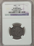 Half Cents, 1800 1/2 C -- Reverse Scratched -- NGC Details. VF. C-1. NGCCensus: (8/136). PCGS Population (13/203). Mintage: 202,90...