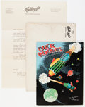 Platinum Age (1897-1937):Miscellaneous, Buck Rogers in the 25th Century #370A (with envelope) (KelloggCompany, 1933) Condition: VG/FN.... (Total: 3 Items)