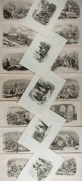 Books:Prints & Leaves, [Engraved Prints]. Group of More Than Fifty 19th Century EngravedPrints. Various sizes. Generally very good condition....