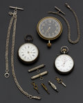 Timepieces:Other , A Miscellaneous Group Lot Of Eleven Items. ... (Total: 11 Items)