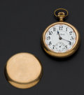 Timepieces:Pocket (post 1900), Illinois 17 Jewel Bunn Pocket Watch For Parts Or Repair. ...