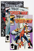 Modern Age (1980-Present):Superhero, Web of Spider-Man Box Lot (Marvel, 1985-93) Condition: AverageNM....