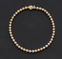 Diamond, Gold Bracelet