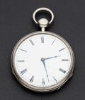 Timepieces:Pocket (pre 1900) , Swiss Large Silver Repeater. ...