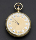 Timepieces:Pocket (pre 1900) , Swiss Recased Repeater Verge Fusee. ...