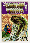 Bronze Age (1970-1979):Horror, Swamp Thing #1 (DC, 1972) Condition: FN....