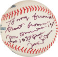 Autographs:Baseballs, Jack Lalanne Signed Baseball With Inscription. ...