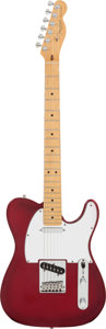 Musical Instruments:Electric Guitars, 1996 Fender Telecaster Red Sunburst Solid Body Electric Guitar,Serial # N6120231. ...