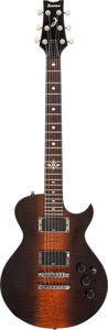 Musical Instruments:Electric Guitars, Circa 2008 Ibanez ART300 Cayman Brownburst Solid Body ElectricGuitar. ...