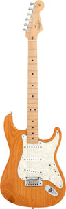 Musical Instruments:Electric Guitars, 2001 Fender Stratocaster Vintage Amber Solid Body Electric Guitar, Serial # Z1050413....