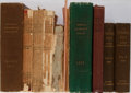 Books:Photography, [Photography Periodicals]. Group of Nine Bound Volumes and Three Single Issues. Various publishers. 1889-1894. Fair or bette... (Total: 12 Items)