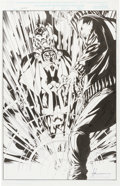 Original Comic Art:Splash Pages, Mike McKone and Mark McKenna Thor #14 Page 17 SplashOriginal Art (Marvel, 1999)....