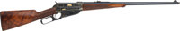Important Ulrich-Engraved Model 1895 Deluxe Winchester Sporting Rifle, Serial number 88418, Presented by Theodore Roosev...