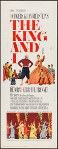 """Movie Posters:Musical, The King and I (20th Century Fox, R-1965). Insert (14"""" X 36""""). Musical.. ..."""