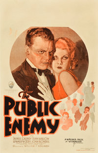 "The Public Enemy (Warner Brothers, 1931). Window Card (14"" X 22"")"
