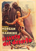 "Movie Posters:Musical, The Desert Song (Warner Brothers, 1950). Post-War Italian 2 - Foglio (39"" X 55"") Luigi Martinati Art.. ..."