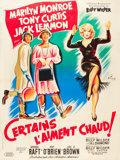 """Movie Posters:Comedy, Some Like It Hot (United Artists, 1959). French Grande (47"""" X63"""").. ..."""