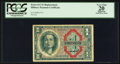 Military Payment Certificates:Series 611, Series 611 $1 Replacement PCGS Apparent Very Fine 20.. ...
