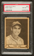 Baseball Cards:Singles (1940-1949), 1940 Play Ball Pinky May #98 PSA NM-MT 8 - Pop Seven, None Higher!...