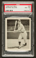 Baseball Cards:Singles (1930-1939), 1939 Play Ball George Selkirk #25 PSA NM-MT 8 - Only Three Higher....